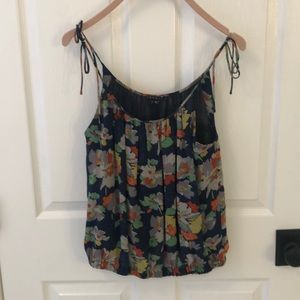 Theory Floral sleeveless blouse XS
